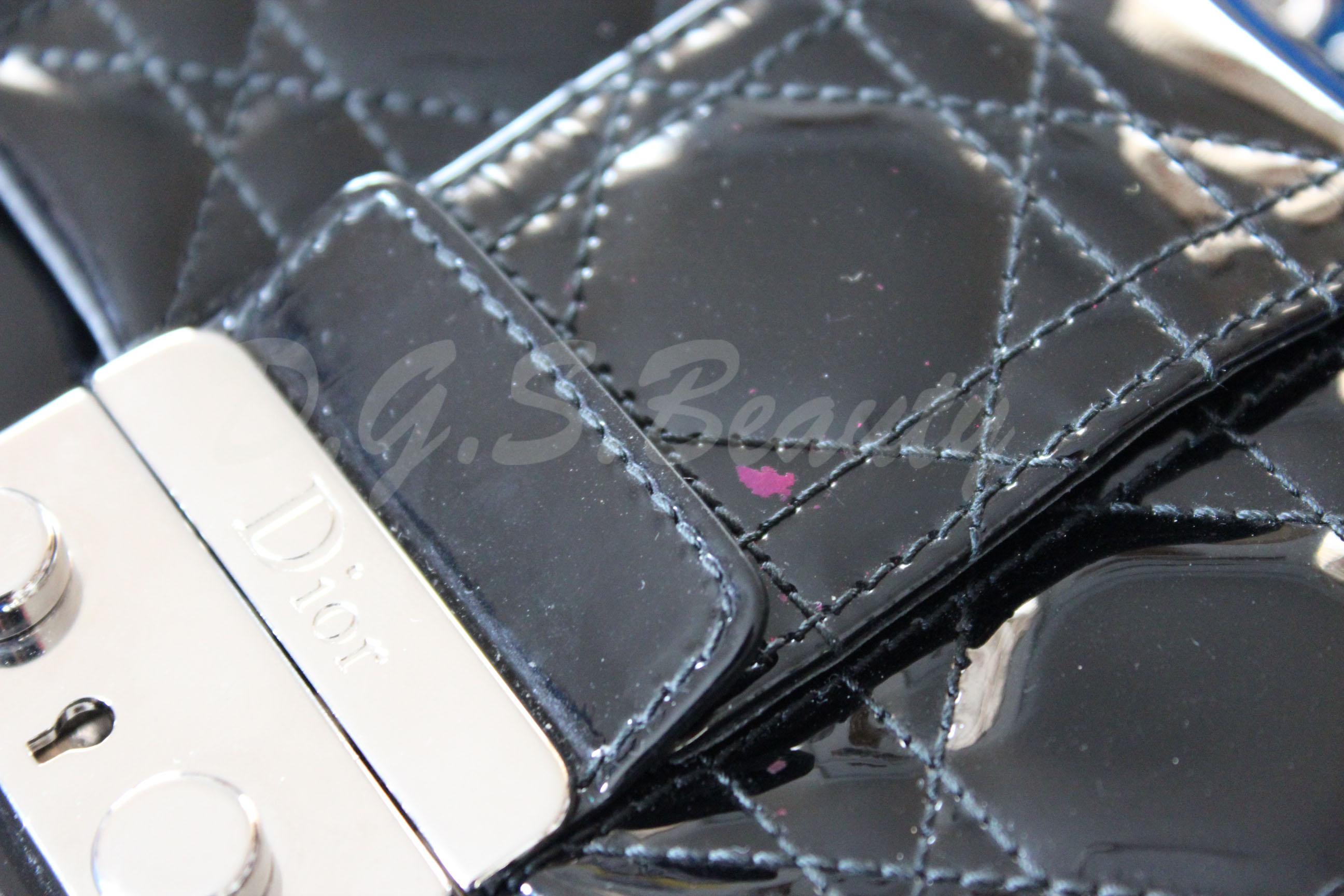 Nail Polish on my Dior Handbag?!