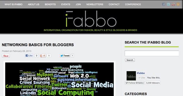 "Special: ""Networking Basics for Bloggers"""