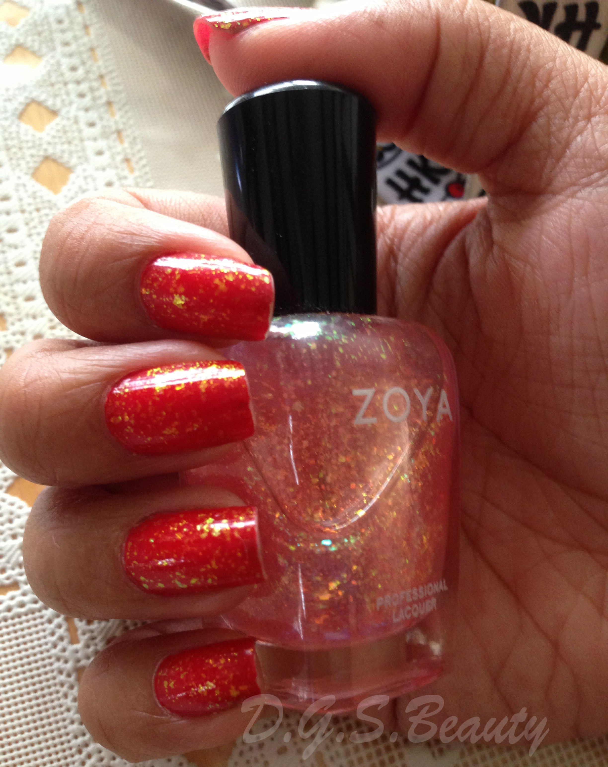 Franny's NOTD: Red Shimmer (Guest Post)
