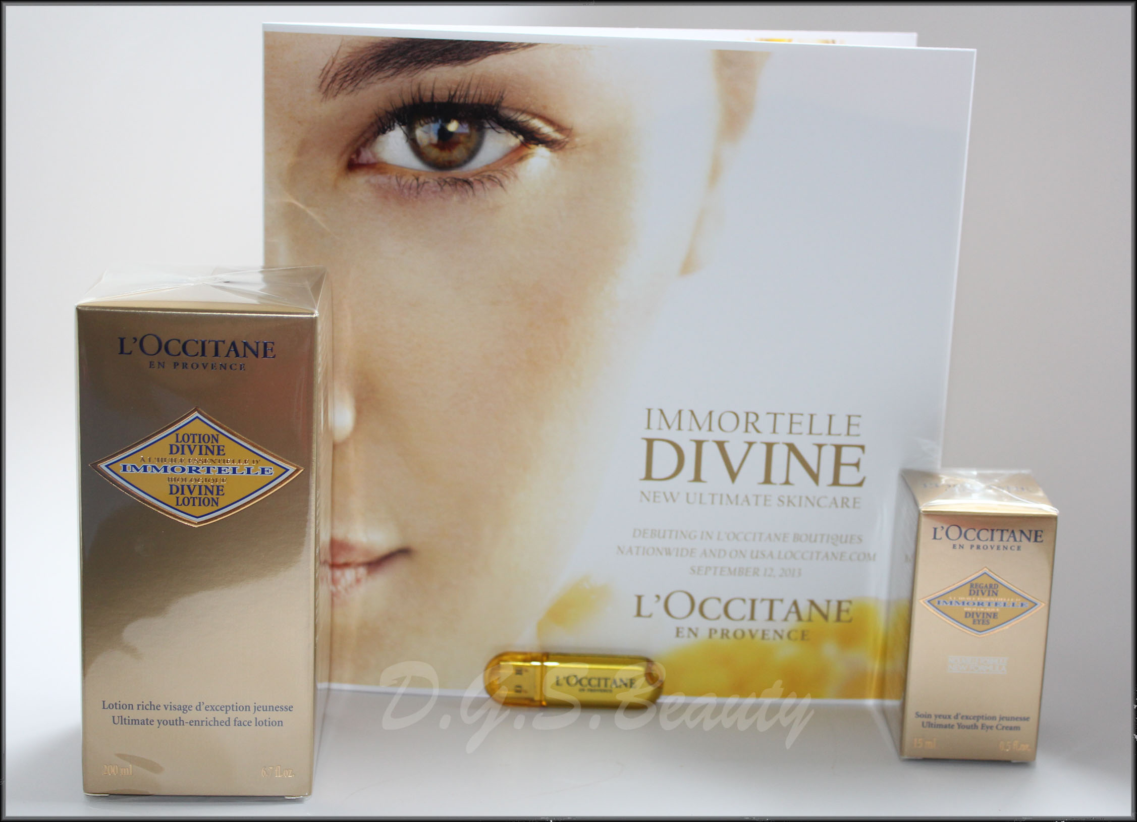 L'Occitane Divine Lotion & Eyes Review