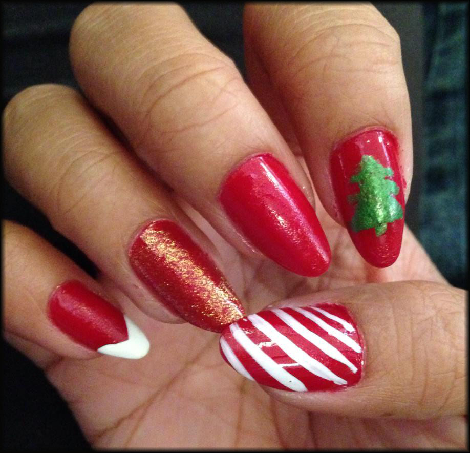Franny's NOTD: Merry Christmas (Guest Post)
