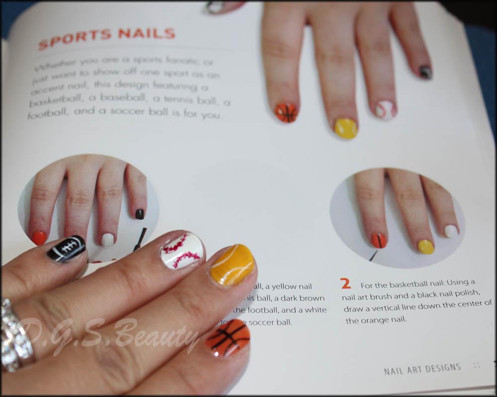 DIY Nail Art #42 Sports Nails | D.G.S.Beauty