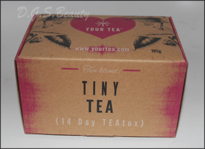 Your Tea: Tiny Tea Teatox (14 day) Day 1