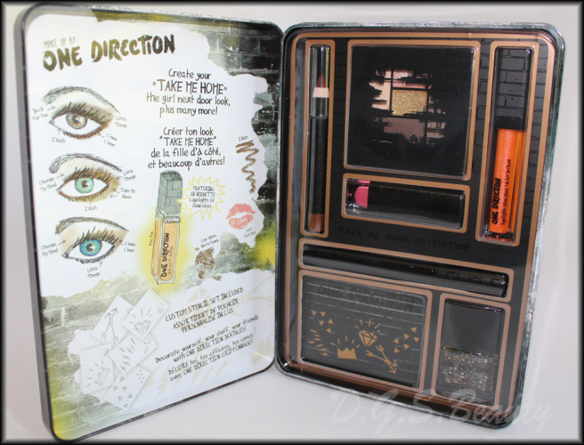 Makeup by One Direction Take Me Home Kit Review & Swatches #makeupby1D