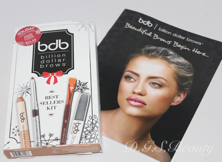 Billion Dollar Brows Best Seller Kit Review and Swatches
