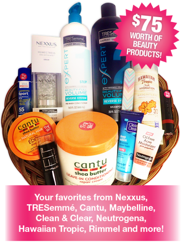 Free Beauty Event's June 2017 Beauty Basket Giveaway
