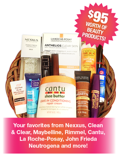Free Beauty Event's July 2017 Beauty Basket Giveaway