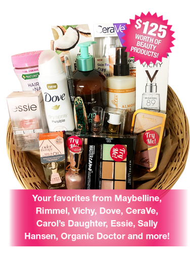 Free Beauty Event's November 2017 Beauty Basket Giveaway