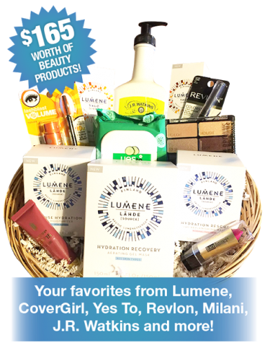Free Beauty Event's December 2017 Beauty Basket Giveaway