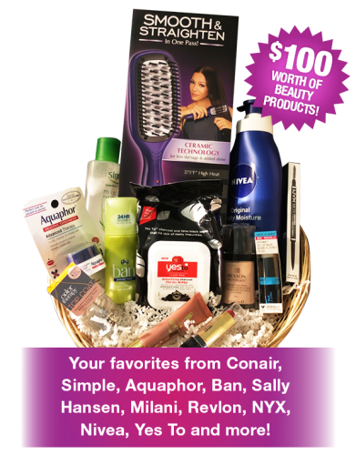 Free Beauty Event's February 2018 Beauty Basket Giveaway