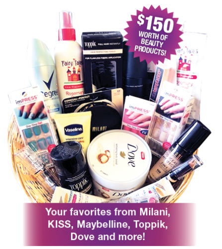 Free Beauty Event's August 2018 Beauty Basket Giveaway
