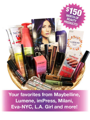 Free Beauty Event's October 2018 Beauty Basket Giveaway